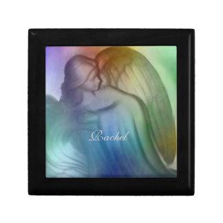 Majestic Rainbow Angel keepsake Box