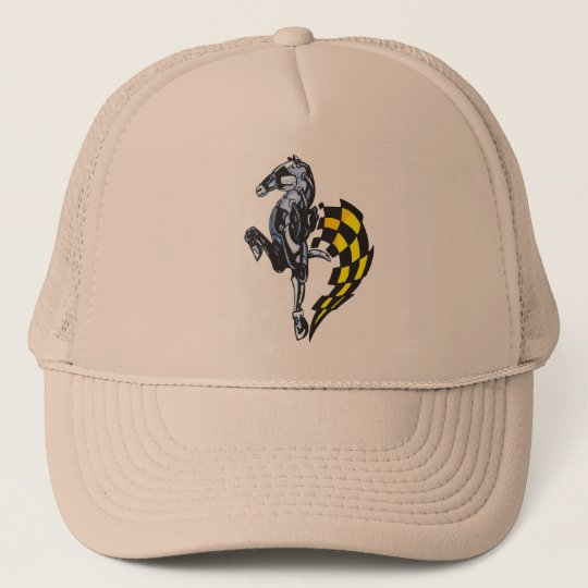 Majestic Robot Horse Trucker Hat