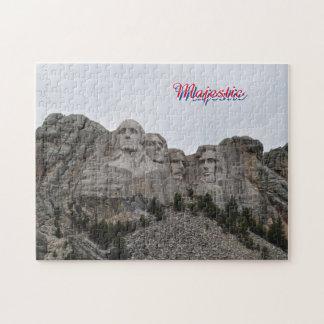 Majestic Rushmore Puzzle