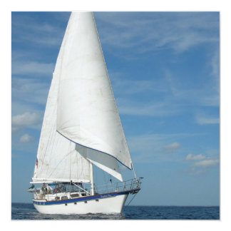 Majestic Sail Invitations