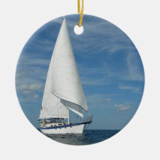 Majestic Sail Ornament