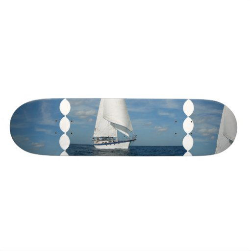 Majestic Sail Skateboard