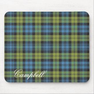 Majestic Scottish Campbell Family Tartan Mouse Pad