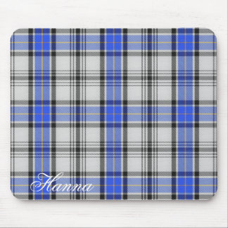 Majestic Scottish Clan Hannay Tartan Mouse Pad