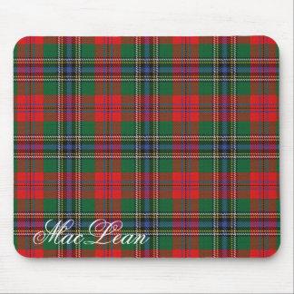 Majestic Scottish Clan MacLean Tartan Mouse Pad