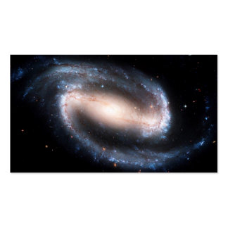 Majestic Spiral Galaxy Print Milky Way Andromeda Business Card