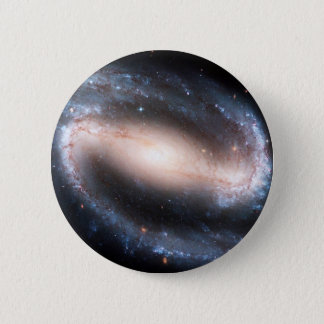 Majestic Spiral Galaxy Print Milky Way Andromeda Pinback Button