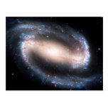 Majestic Spiral Galaxy Print Milky Way Andromeda Postcard