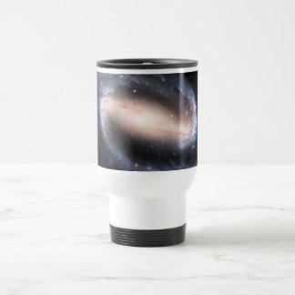 Majestic Spiral Galaxy Print Milky Way Andromeda Travel Mug