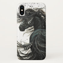 Majestic Spirit Horse by Bihrle iPhone X Case