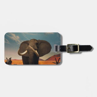 Majestic Stature Luggage Tag