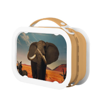 Majestic Stature Lunch Box