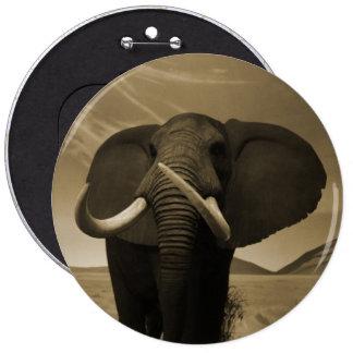 Majestic Stature Pinback Button