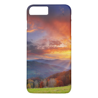 Majestic sunrise in the mountains landscape iPhone 8 plus/7 plus case