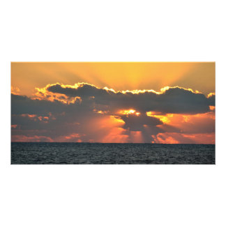 Majestic Sunrise photo card