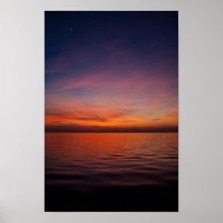 Majestic Sunset Poster