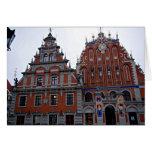 Majestic Town Hall Riga, Latvia Greeting Card