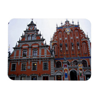 Majestic Town Hall Riga, Latvia Magnet