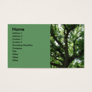 Majestic Tree Business Card