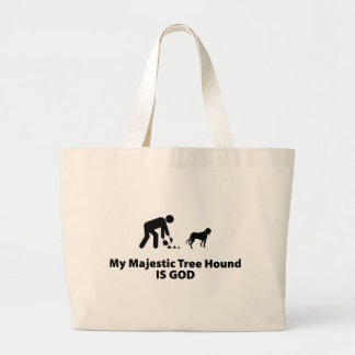 Majestic Tree Hound Tote Bags