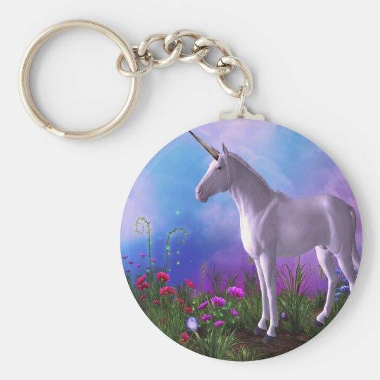 Majestic Unicorn Keychain