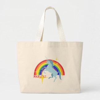 Majestic Unicorn Vintage 80's Style Tote Bags