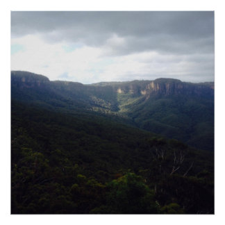 Majestic View Blue Mountains Print