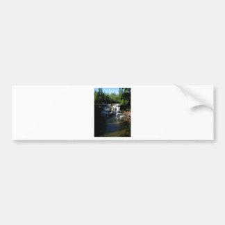 Majestic Waterfall at Gooseberry Falls – Nature Bumper Sticker