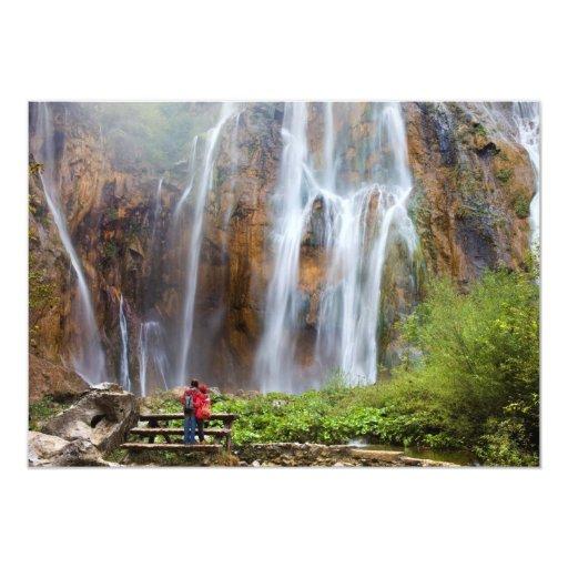 Majestic Waterfall Card