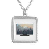 Majestic Wilderness Silver Plated Necklace