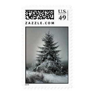 Majestic Winter Stamp