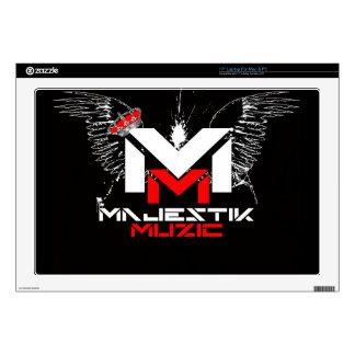 "Majestik Muzic Laptop Cover Skin For 17"" Laptop"
