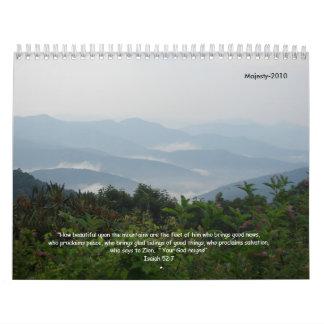 Majesty-2010 Calendar
