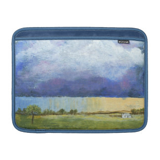 Majesty Abstract Art Landscape House Painting MacBook Air Sleeve