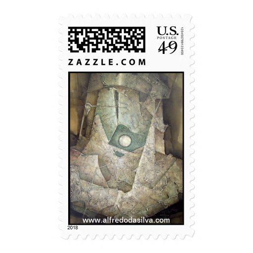 Majic Planet Postage Stamps