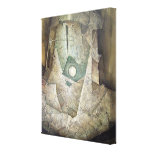 Majic Planet Stretched Canvas Prints