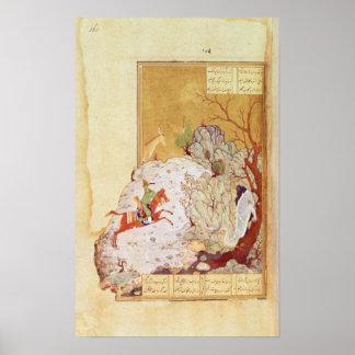 Majnun in the Desert Poster