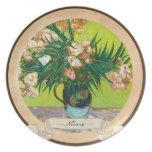Majolica Jar Branches Oleander Vincent van Gogh Dinner Plates