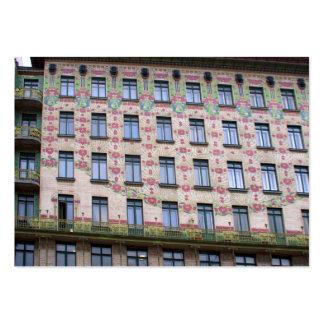 Majolikahaus Vienna Austria Large Business Card