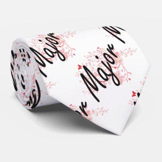 Major Artistic Job Design with Butterflies Tie