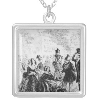 Major Bagstock is delighted Silver Plated Necklace