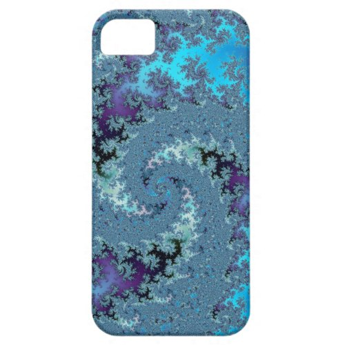Major Case of the Blues Fractal Skins iPhone 5 Cover