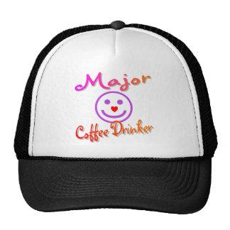 Major Coffee Drinker Hat