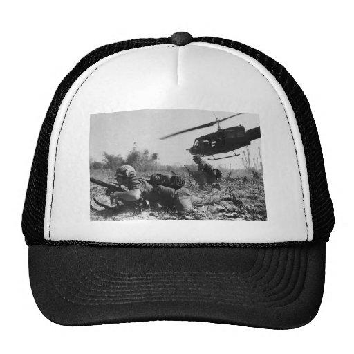 Major Crandall's UH-1D Helicopter in Vietnam War Trucker Hat