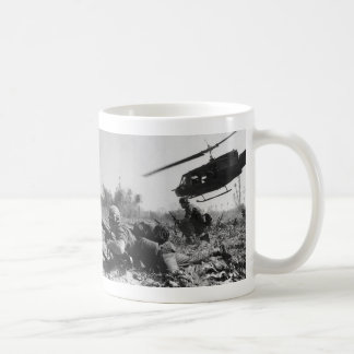 Major Crandall's UH-1D Helicopter in Vietnam War Coffee Mug