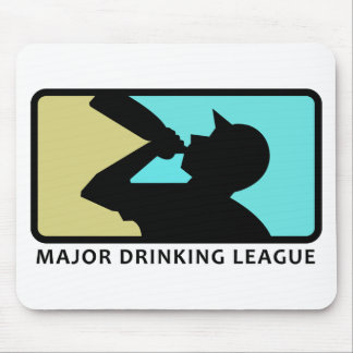 Major Drinking League Mouse Pad