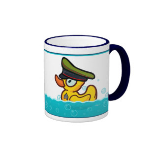 Major Duckage Ringer Coffee Mug
