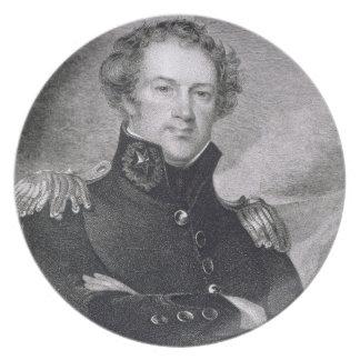 Major General Alexander Macomb (1782-1842), engrav Party Plates