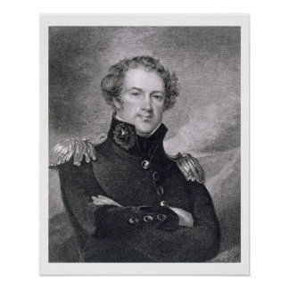 Major General Alexander Macomb (1782-1842), engrav Posters
