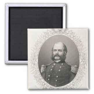 Major General Ambrose Everett Burnside Refrigerator Magnet